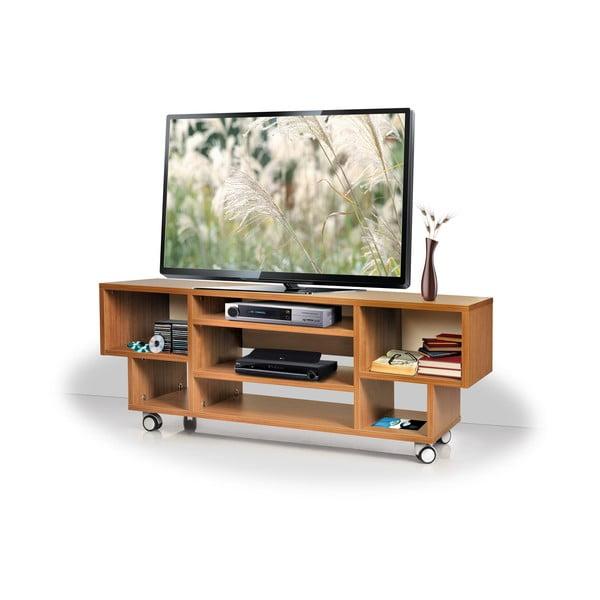 Televizní stolek Duo, teakový