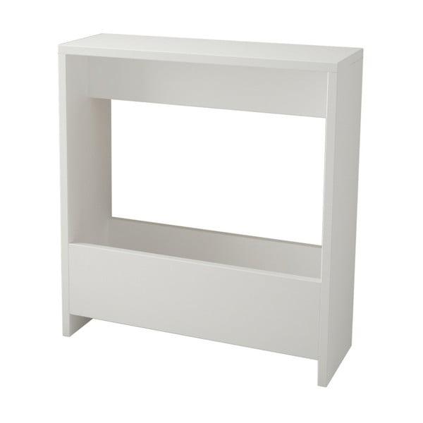 Biely príručný stolík Simpi White
