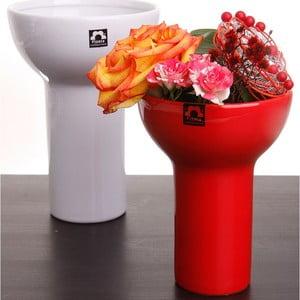 Váza Odet 20 cm, červená