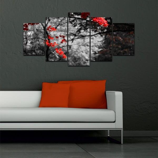 Vícedílný obraz Black&White no. 42, 100x50 cm