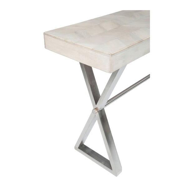 Konzolový stůl Chevron White