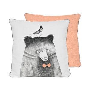 Polštář Pillow Bear, 45x45 cm