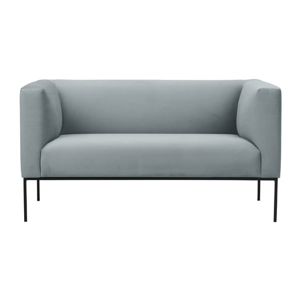 Jasnoszara sofa 2-osobowa Windsor & Co Sofas Neptune