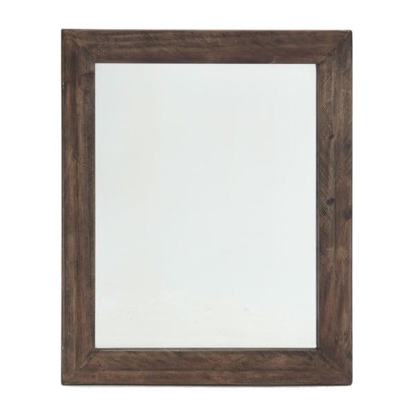 Nástěnné zrcadlo In Brown, 85x102 cm