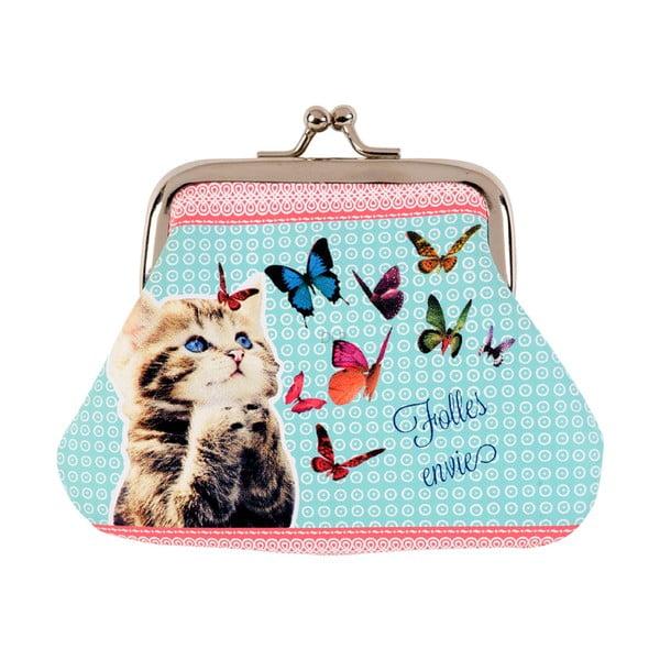 Peněženka na drobné Lilou Folles envies, blue/pink
