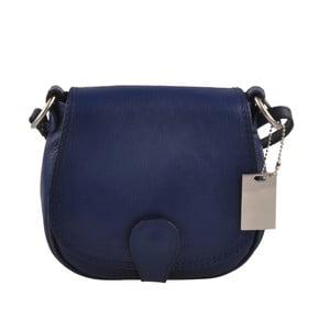 Modrá kožená kabelka Matilde Costa Gisstel