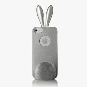 Rabito obal na iPhone 5 Bling Bling, stříbrný