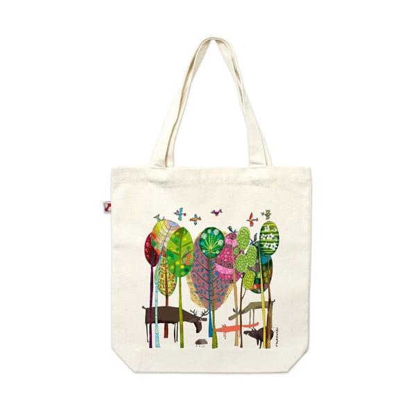 Plátěná taška Lesní