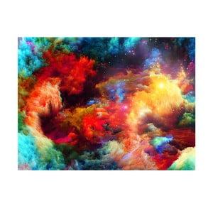 Tablou Galaxia colorată, 70 x 100 cm