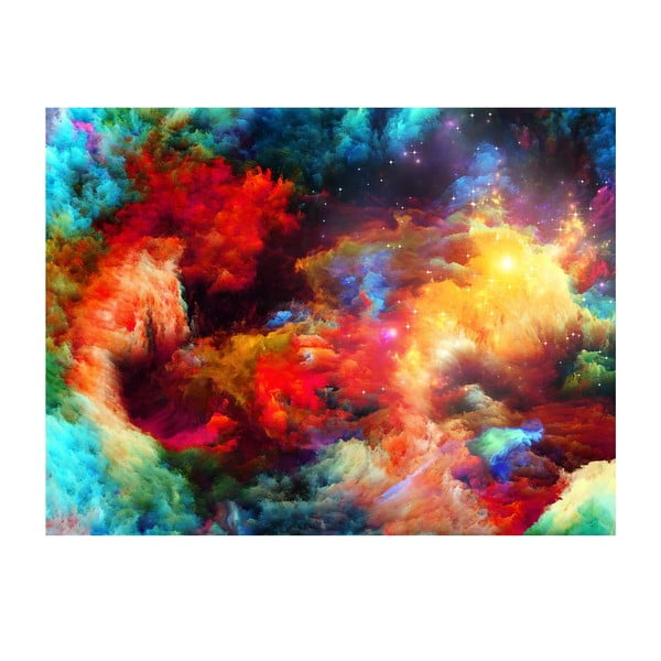 Tablou Colorful Galaxy, 70 x 100 cm