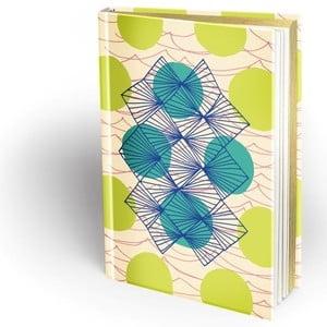 Zápisník Mon Petit Art Trame Verta