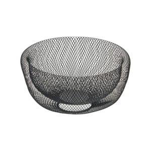 Černá kovová dekorativní mísa Native Bowl, ⌀ 28,5 cm