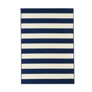 Modrý vysoce odolný koberec Webtappeti Stripes,160x230cm