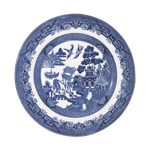 Talíř Churchill China Blu Willow, Ø 20 cm