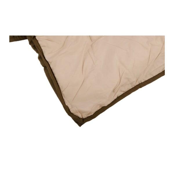 Přehoz na postel Duveta Cacao, 220x240 cm