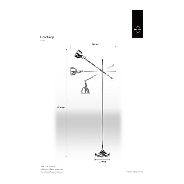 Stojací lampa Classic Adjust
