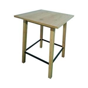 Hnědý barový stolek Actona Chara