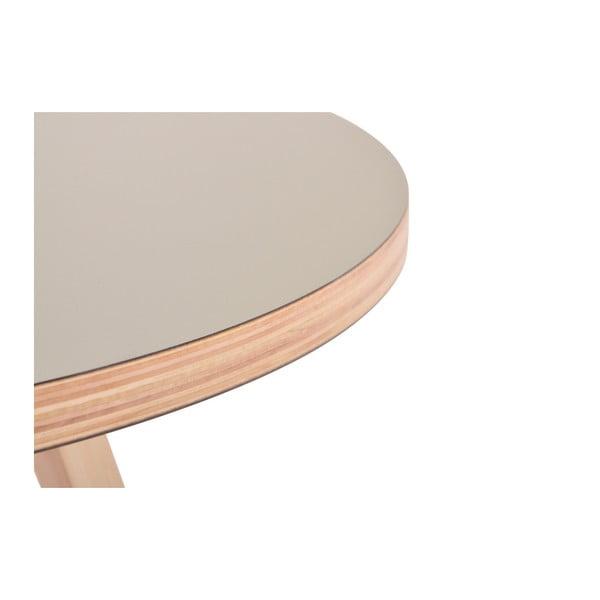 Zelený kulatý konferenční stolek Garageeight Arvika, ⌀54cm