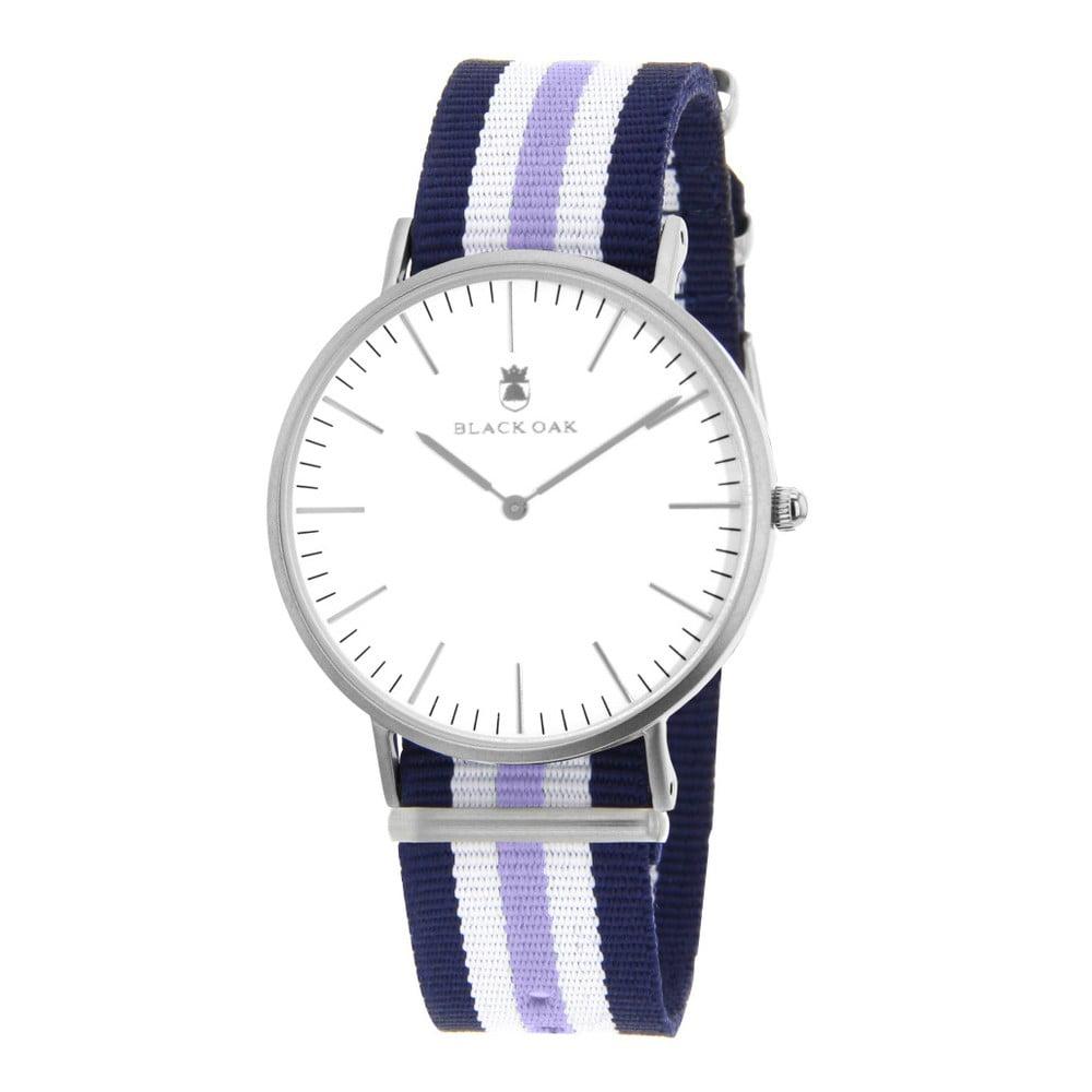 Modrofialové dámské hodinky Black Oak Rondo
