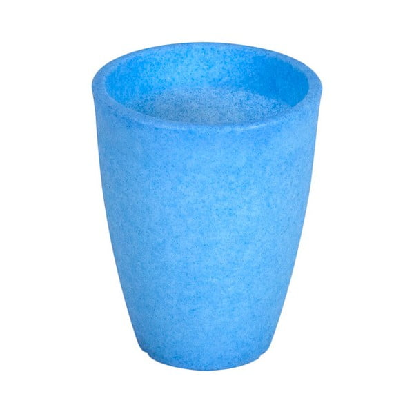 Fluorescenční váza Orchidea 14 cm, modrá