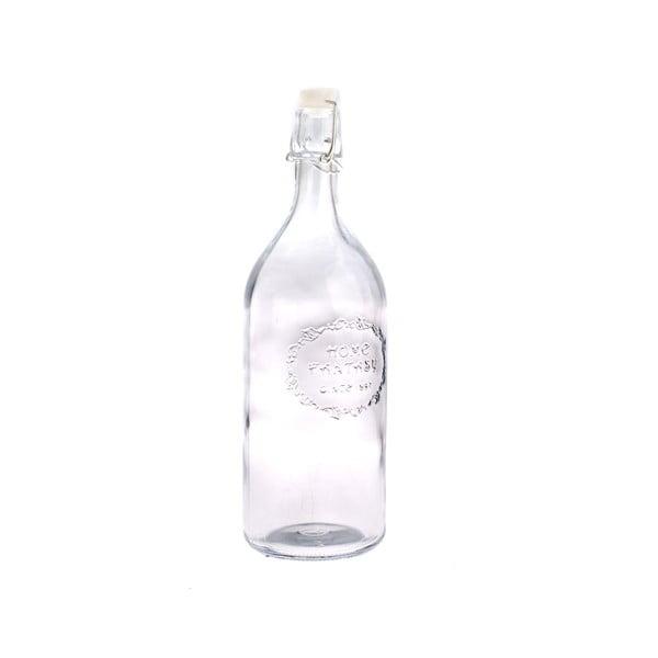 Skleněná lahev s uzávěrem Dakls Merito, 1 l