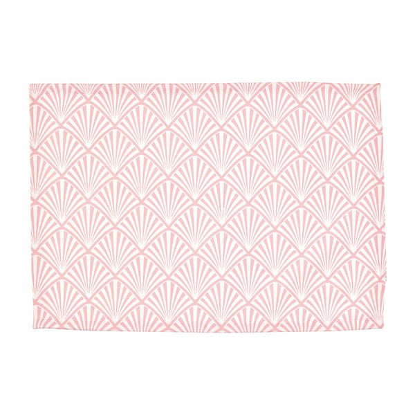 Różowa bawełniana mata stołowa Green Gate Celine, 40x50 cm