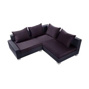 Švestková sedačka Interieur De Famille Paris Aventure, pravý roh