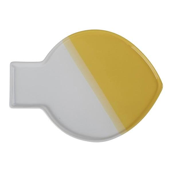 Bíložlutý talíř Athezza Caracas