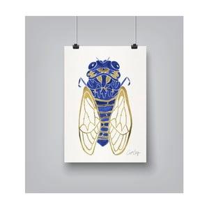 Plakát Americanflat Cicada, 30x42cm