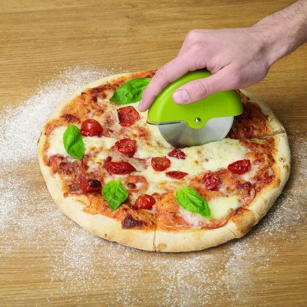Kráječ na pizzu s rotačním krytem Scoot, červený