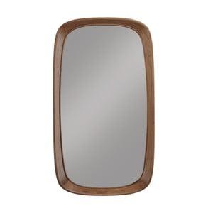 Nástěnné zrcadlo s rámem z ořechového dřeva Wewood - Portuguese Joinery Sixty's, délka115cm