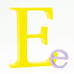 """Malé """"e"""" 5x5 cm, levandulová"""