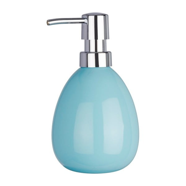 Světle modrý dávkovač na mýdlo Wenko Polaris Blue