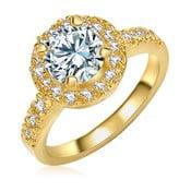 Dámský prsten zlaté barvy Tassioni Bride, 52