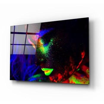 Tablou din sticlă Insigne Neon