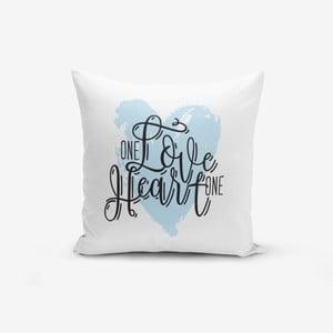 Povlak na polštář s příměsí bavlny Minimalist Cushion Covers Modern,45x45cm