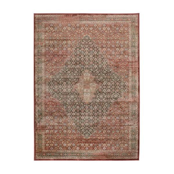 Červený koberec z viskózy Universal Rust, 160 x 230 cm