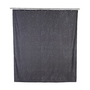 Závěs do sprchy Wenko Deluxe, šedý
