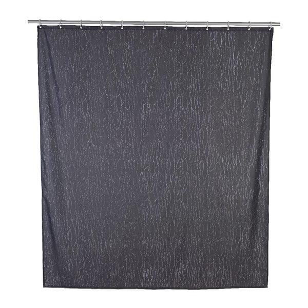 Perdea duș Wenko Deluxe, 180x200cm, gri