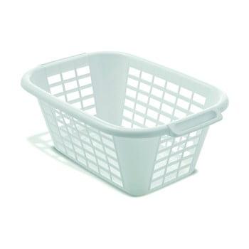 Coș de rufe Addis Rect Laundry Basket, 40 l, alb imagine