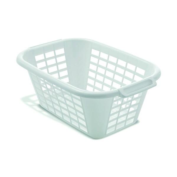 Rect Laundry Basket fehér szennyeskosár, 40 l - Addis