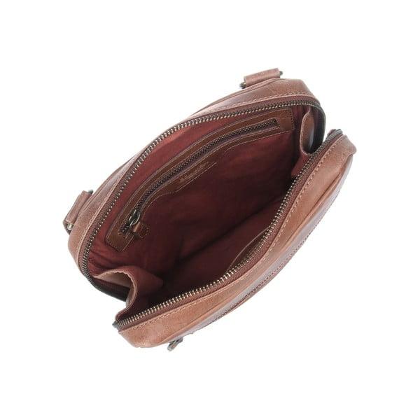 Kožená taška Bader Brown