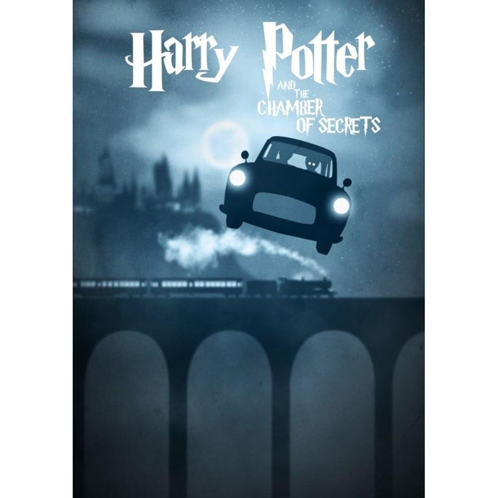 Plakát Blue-Shaker Harry Potter 10, 30 x 40 cm