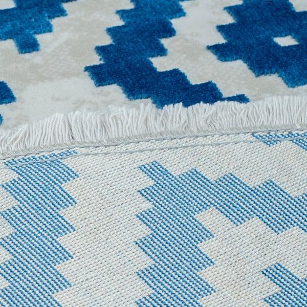 Koberec Munico Azul, ⌀ 150 cm