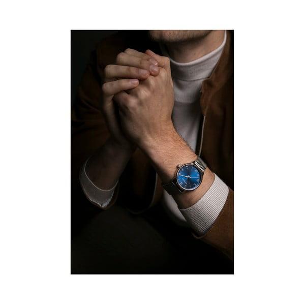 Pánské hodinky s páskem z nerezové oceli ve stříbrné barvě Walter Bach Chuck