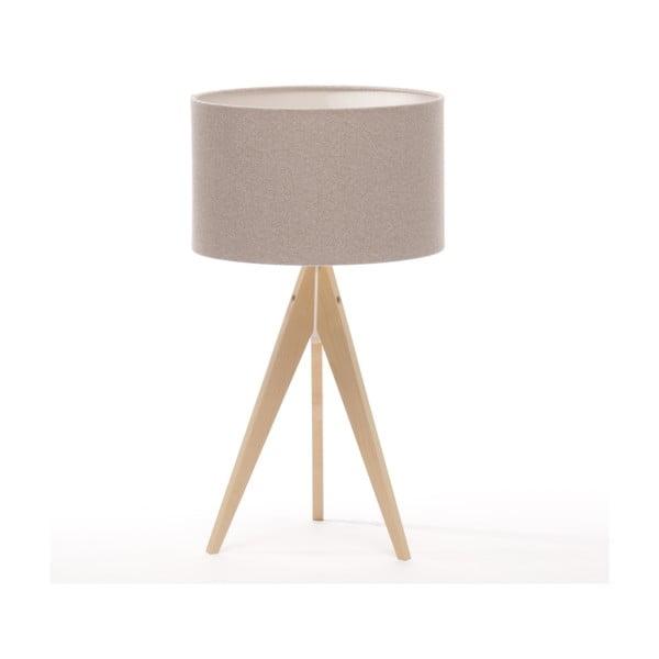 Stolní lampa Arist Brown Grey/Natural