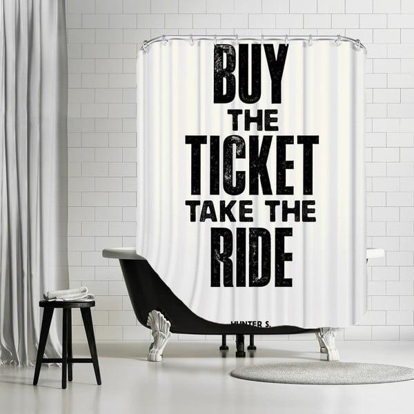 Koupelnový závěs Buy The Ticket, 180x180 cm