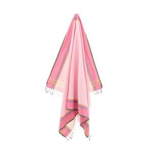 Ručník/pareo Nuray Pink, 100x178 cm
