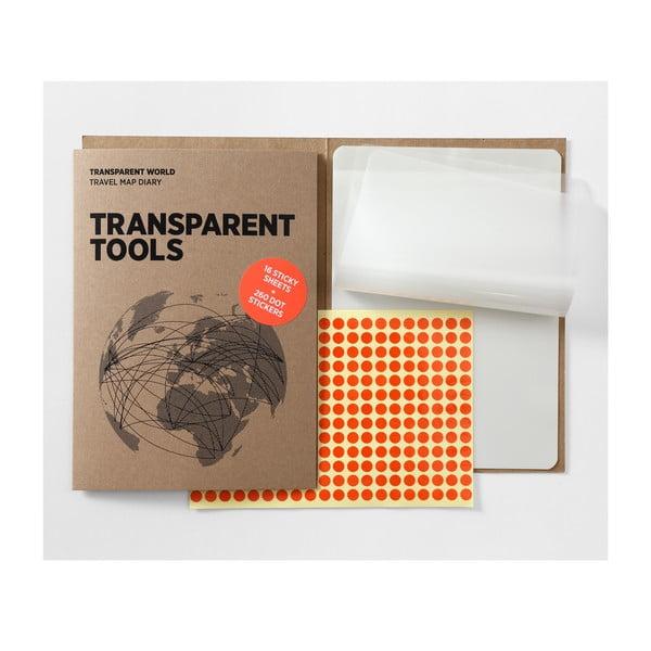 File suplimentare transparente pentru harta Transparent World Palomar