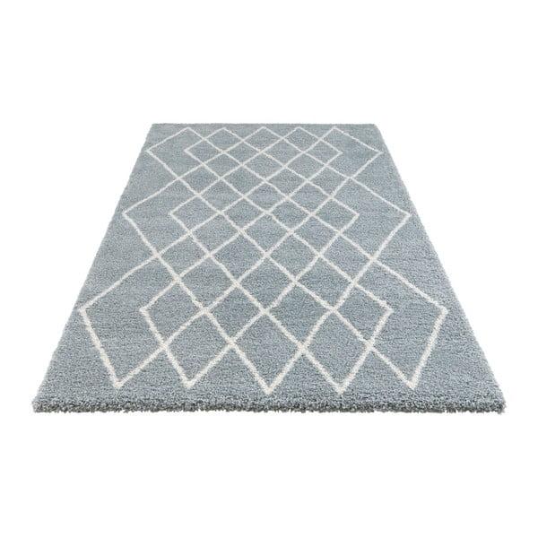Modrý koberec Elle Decor Passion Bron, 120 x 170 cm